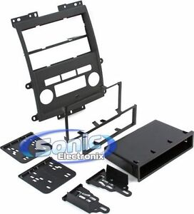 Metra-99-7428B-Double-DIN-ISO-DIN-Install-Dash-Kit-for-Select-2009-12-Nissan