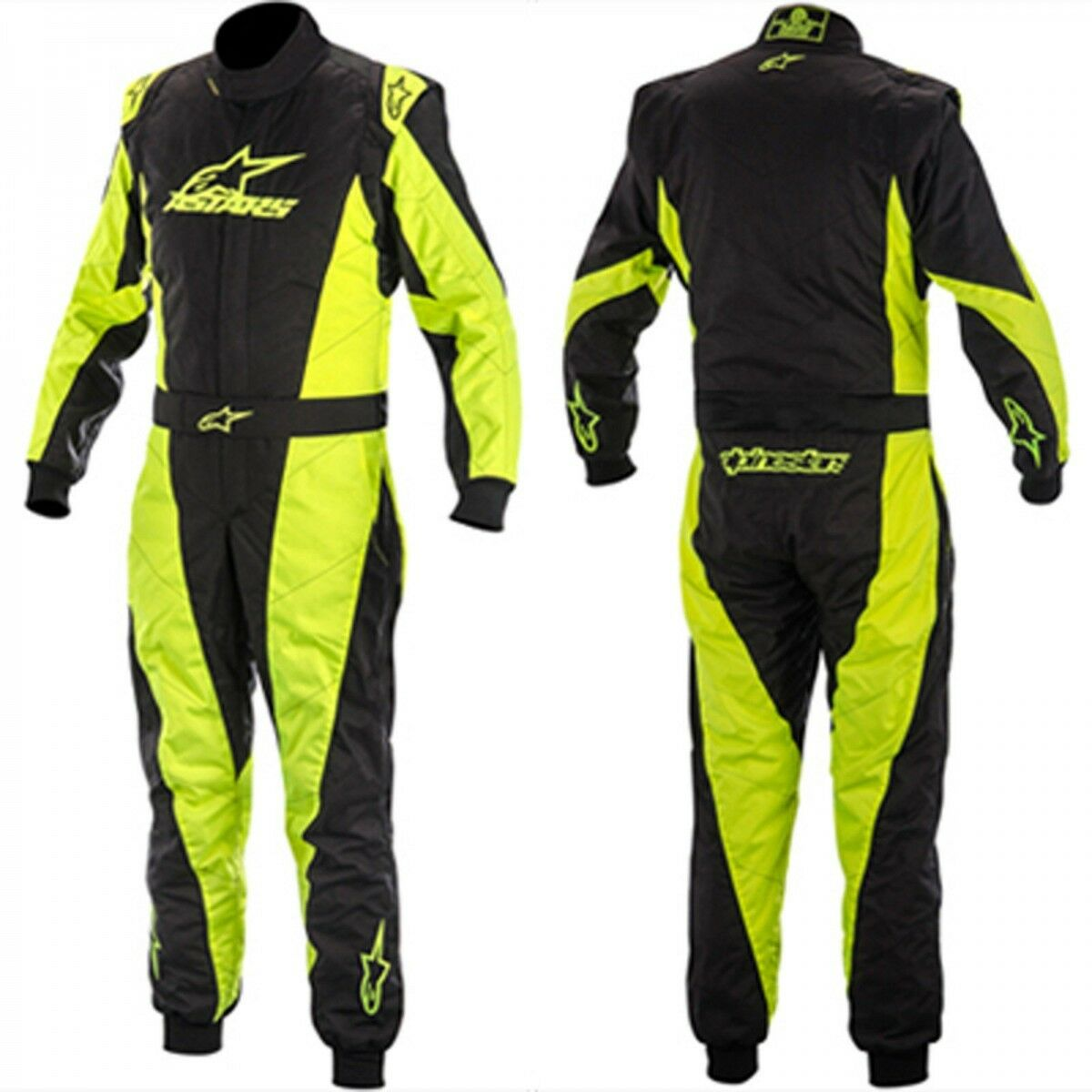 Alpinestars Go Kart  Racing Suit K-MX5 NRG Ltd Edition Blk Yel  cheap