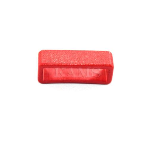 "20mm 12pcs3//4/"" Colorful Belt Loop Keeper for Dog Collar Harness Backpack Straps"