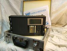 RADIO GRUNDIG SATELLIT 500 NEW  NUOVA + VALIGETTA User Manual & Service AM FM SW