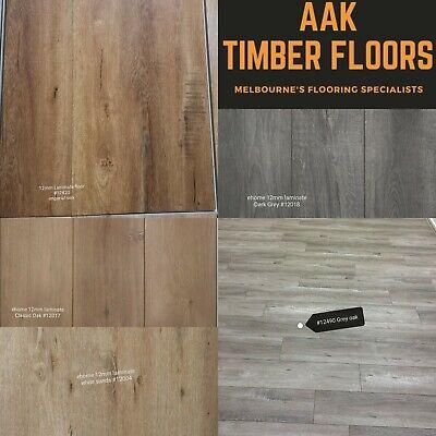 3 Colors 12 Laminate Timber Flooring, Laminate Flooring Melbourne