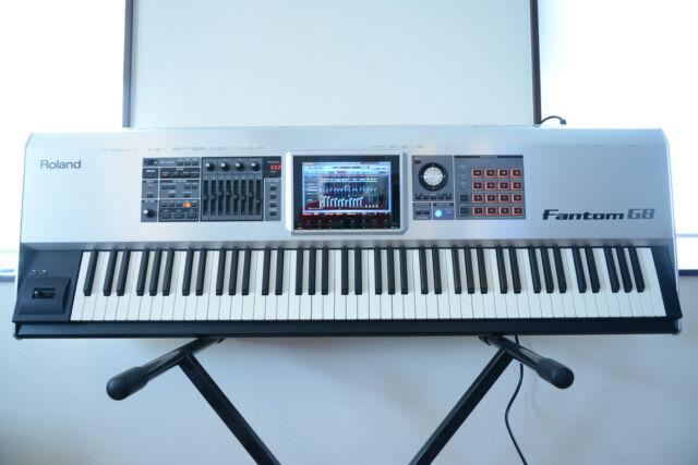 roland fantom g8 88 keys keyboard workstation by yunonfinity ebay. Black Bedroom Furniture Sets. Home Design Ideas