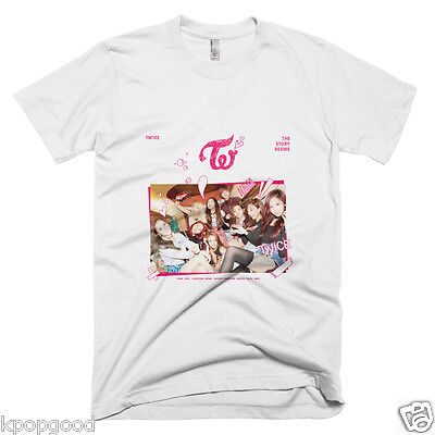 Twice The Story Begins Album Cover T Shirt Tee Kpop Like Ooh Ahh