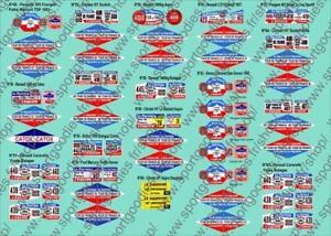 Plaques-Tour-de-France-Collection-vehicules-publicitaires-Hachette-N-48-a-65