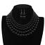 Women-Bohemian-Choker-Chunk-Crystal-Statement-Necklace-Wedding-Jewelry-Set thumbnail 57
