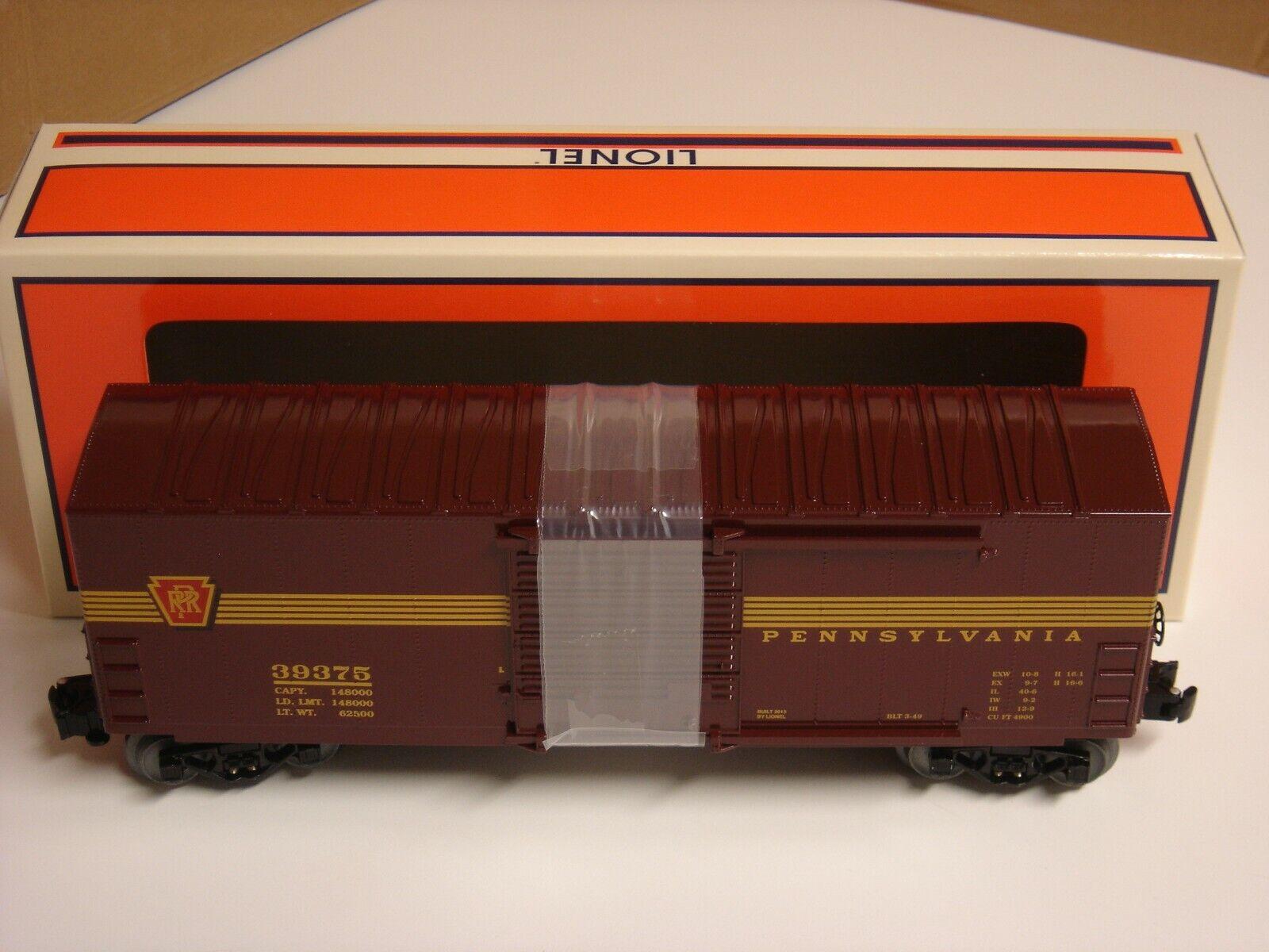 Lionel Pennsylvania Railstrada High Top scatola auto o Gauge PRR porta si apre nuovi 639375
