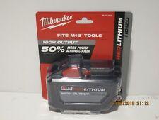 Milwaukee 48-11-1812 M18 FUEL HD 12 Ah RED Li-Ion BATTERY F/PRI-SHP SEALED NISB!
