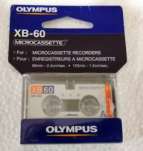 Olympus-XB60-Micro-Cassette-MC-60-Tape-Voice-Recorder-EXPEDITED-SHIPPING