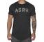 SUMMER Round Collar Mens T-Shirts Running Gym Sport Workout Short Sleeves