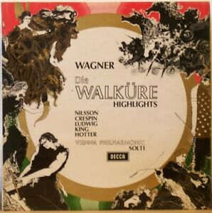 WAGNER-Die-Walkure-highlights-LP-Nilsson-Crespin-Ludwig-King-Vienna-Phil-SOLTI