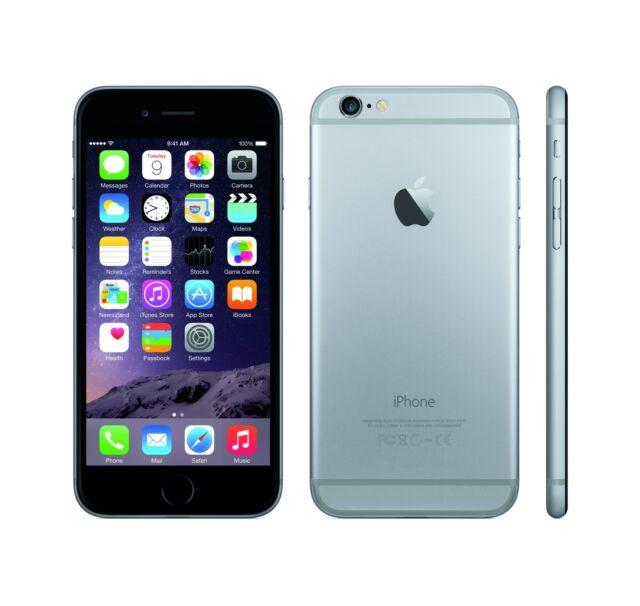 APPLE IPHONE 6 128GB SPACE GREY GRADO A/B + ACCESSORI - RICONDIZIONATO