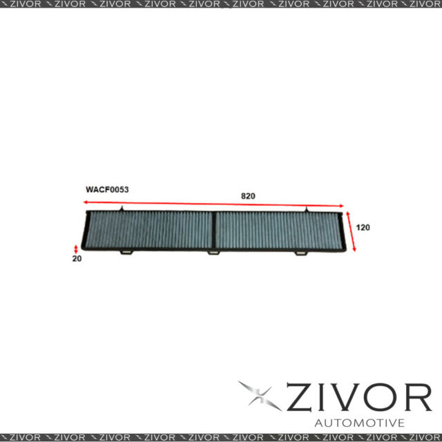 WESFIL CABIN Filter For BMW 330D 3.0L 06/09-01/10 -WACF0053* By Zivor*