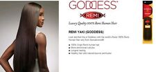 brand new sensationnel goddess remi yaki 100% human hair 10inch color 4/27