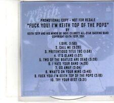 (DW150) F**k You I'm Keith Top Of The Pops - 2011 DJ CD