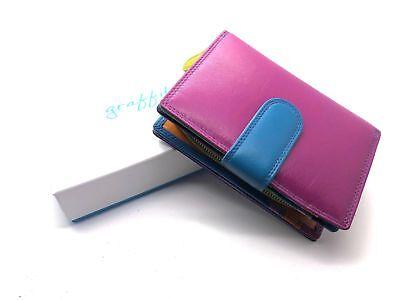 Golunski Graffiti Range Quality Leather Multi Coloured Purse RFID Protected