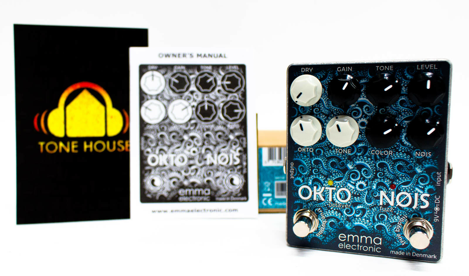 EMMA Electronic ON-1 Okto-Nojs Octave Fuzz Guitar Effect Pedal