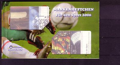 """europa:9235 Realistisch Brd Sportmarkenheft 2006 Gestempelt """"bonn"""" Lassen Sie Unsere Waren In Die Welt Gehen"""