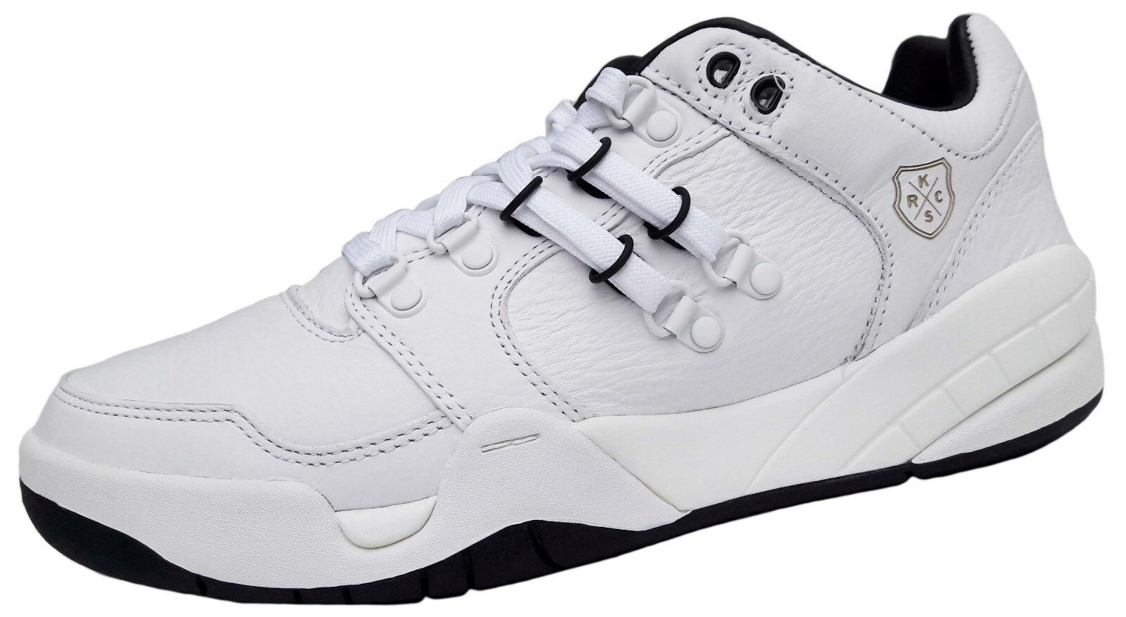 K-Swiss sl-18 Intl Nouveau Lux Femmes Cuir Basket Taille 35,5 Chaussures De Loisirs Large NEUF
