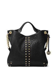 Michael Kors Uptown Astor Leather Shoulder Bag Black 30t1muat7l
