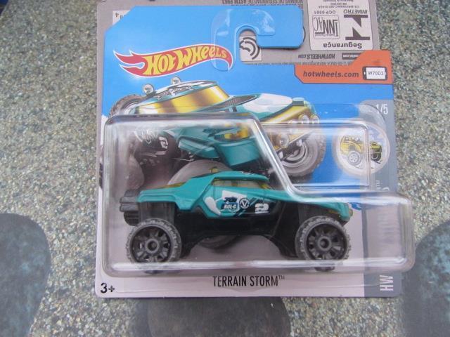 Hot Wheels 2017 #086/365 TERRAIN STORM turquoise HW Snow Stormers