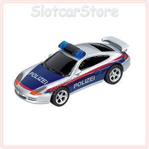 Carrera-GO-61027-Porsche-GT3-034-Polizei-Osterreich-034-mit-Licht-1-43-Slotcar-Auto