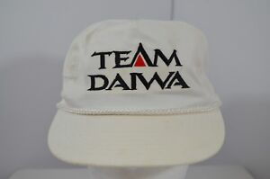 8f1bdb32c Details about VTG Team Daiwa Fishing Reals Rods Tackle Lures Snapback  Baseball Hat Cap Rope