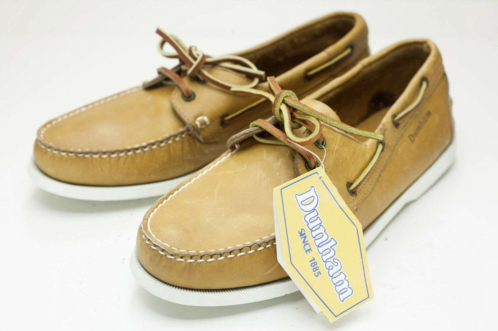 Dunham 10 Brown Boat shoes