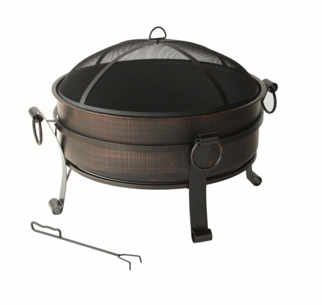 Fire Pit Insert Wood Burning Camping Outdoor Backyard ...