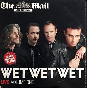 Wet-Wet-Wet-2xCD-Live-Volume-One-Promo-England-VG-EX