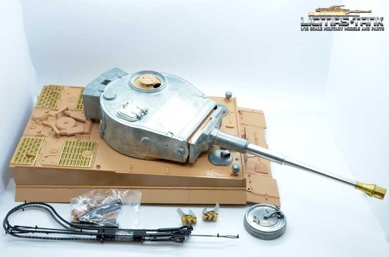 Metallturm Upper Hull Ir Pipe Retraction Metal Gun Heng Long 1 16 Tiger 1