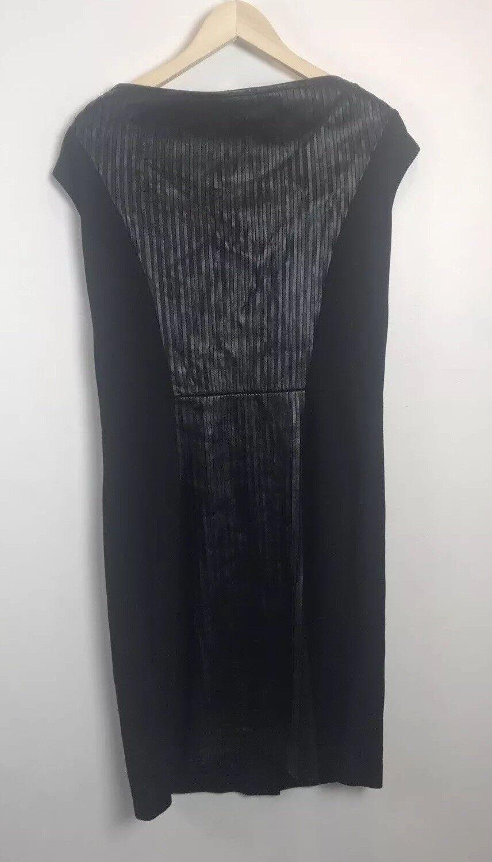 Bagatelle damen schwarz dress Sz 14 sleeveless -very hot  H24