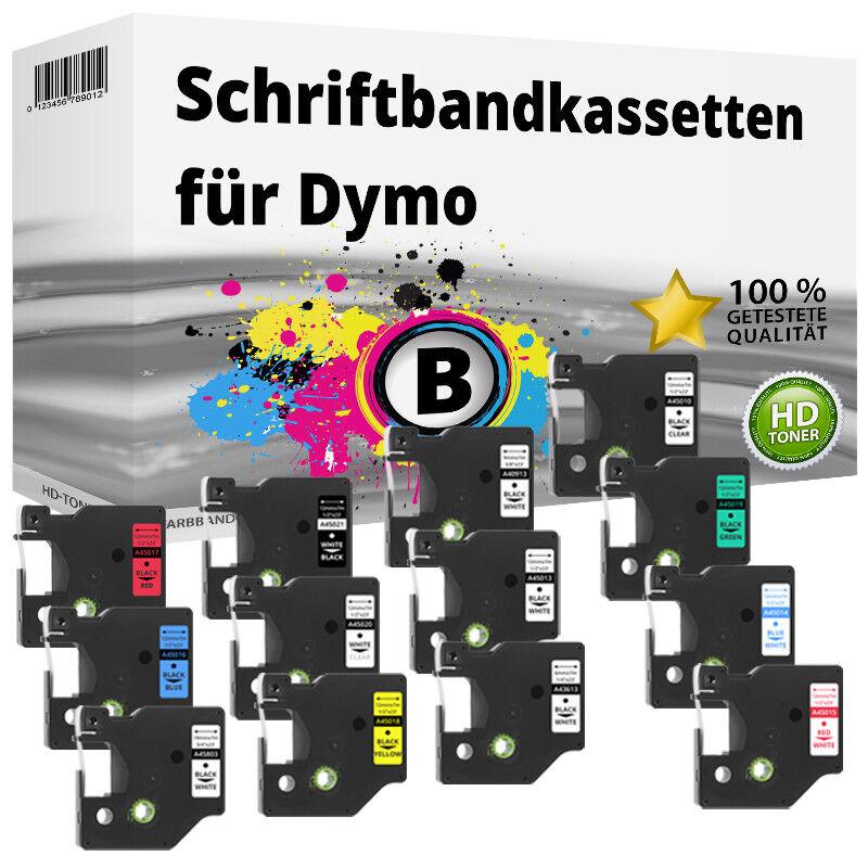 Kompatibel Dymo D1 LabelManager   LabelPoint Etikettenbänder 6mm 9mm 12mm 19mm | Wonderful  | Eine Große Vielfalt An Modelle 2019 Neue  | Verwendet in der Haltbarkeit