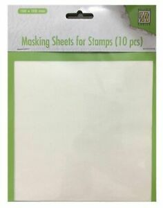 Masking Sheets Stamp Bögen Stempel Hintergrundgestaltung Nellie MSFS001