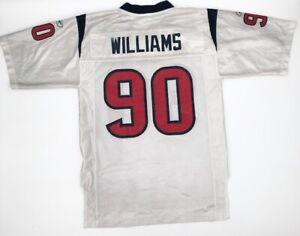 Houston Texans Mario Williams Jersey #90 White NFL Reebok ...