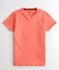 Hollister-homme-a-encolure-ras-du-cou-a-manches-courtes-Muscle-must-have-Courbe-Tee-Logo-T-Shirt miniature 15