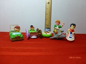 Vintage Burger King Figures Pvc Harry Potter Assorted Lot Of 5 Collectibles Ebay