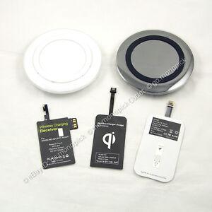 Qi-Wireless-S-Circulo-De-Carga-Cargador-Pad-Receptor-Para-Samsung-Htc-Lg-Nokia-Sony