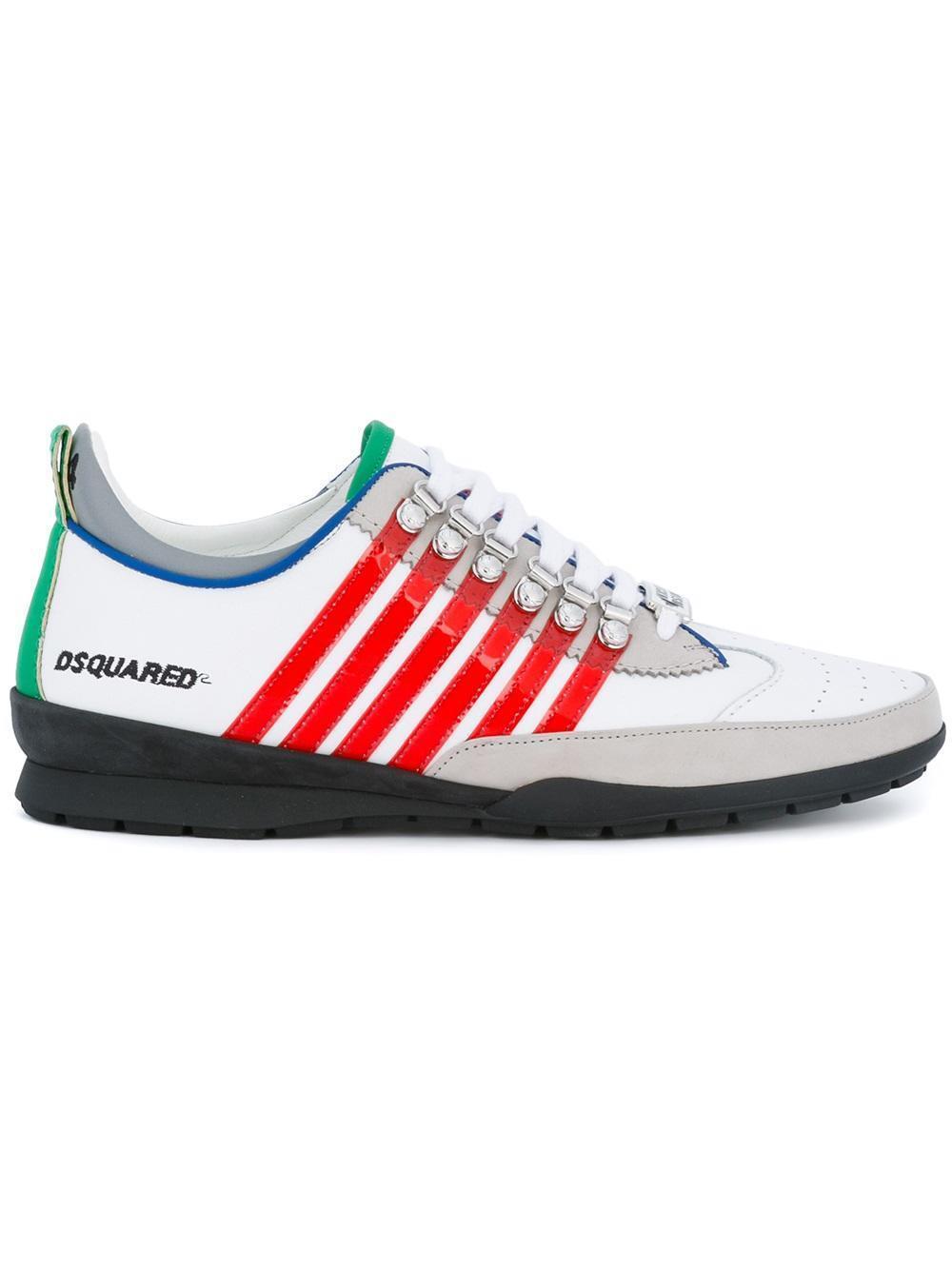 DSQUARED² BASKETS 251 Men'S HOMME Chaussures pour 100%AUT
