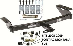 image is loading trailer-hitch-w-wiring-kit-fits-2005-2009-