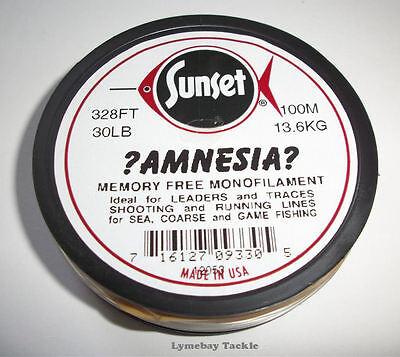 AMNESIA MEMORY FREE FISHING LINE 15 LB CLEAR  SS09415