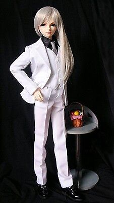 [wamami] 511# White Suit/Outfit 5pcs 1/3 SD DZ AOD DOD BJD Boy Dollfie