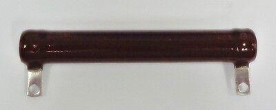 NEW 2,500 Ohm 2.5K Ohm 100 Watt Adjustable Tubular Ceramic Power Resistor 100W