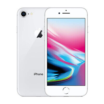 Apple iPhone 8 64GB Plata Desbloqueado Unlocked Smartphone (GSM)