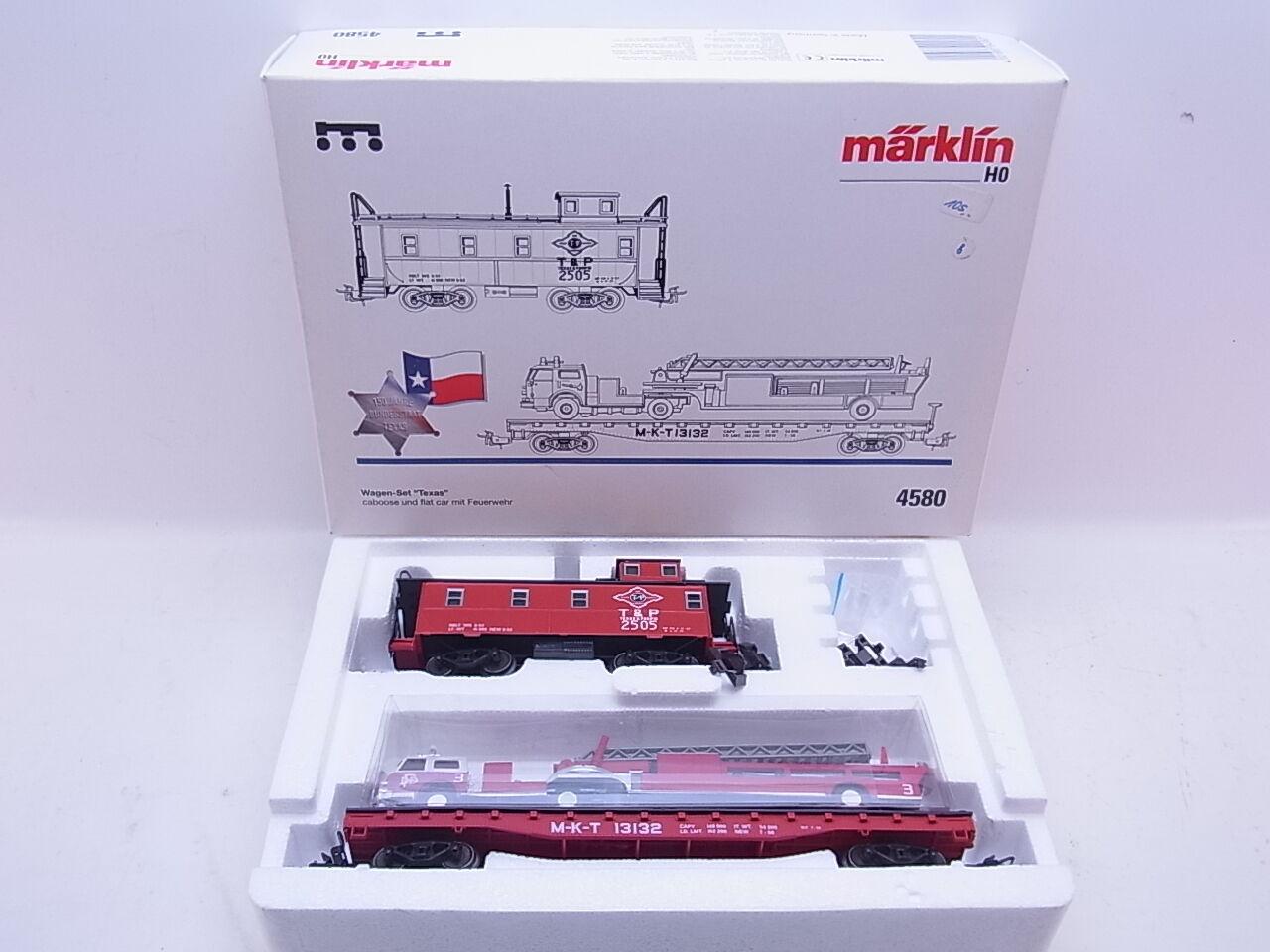 Lot 42630   MDA   h0 4580 vagoni-Set  Texas  2 pezzi in scatola originale
