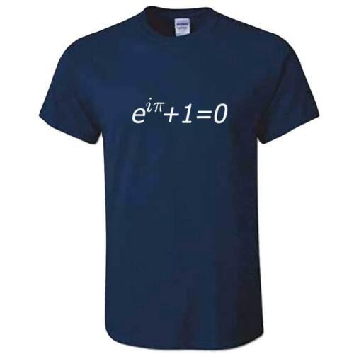 Science Maths Physics T Shirt Unisex Euler/'s Identity Equation Tshirt Eulers