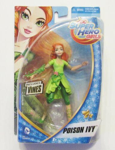 DC Super Hero Girls, Poison Ivy, 6 Inch Figure, New In Package