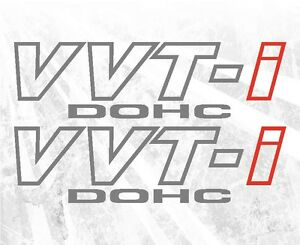VVT-i-VVTI-DOHC-vinyl-sticker-decal-Toyota-celica-supra-tC-xB-FR-S-Venza-Tacoma