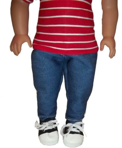 18 inch Boy Doll Hand Crafted One of a Kind Just Like American Girl Caleb