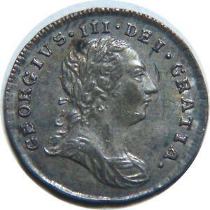 Great-Britain-2-Pence-1786-km-595-King-George-lll-Silver-Rare-Grade-J5