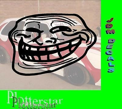 Ugly Face Meme Bitch  Hater Aufkleber Sticker Race Raser Fun JDM OEM DUB Like